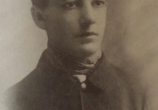 "Sherwood Anderson as an Ohio National Guardsman during the Spanish-American War. Photo from Walter Rideout's ""Sherwood Anderson: A Writer In America, Volume 1."""